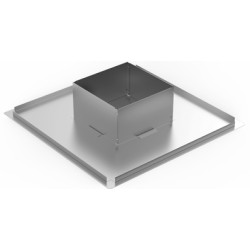 Lubų dėžė d200 460x460x240mm