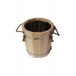 Sauna bucket 10l with...