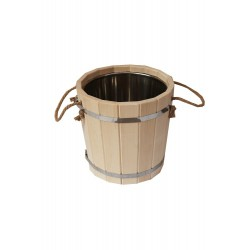Sauna bucket 15l with...