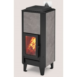 Heating stove Vertical ceramic