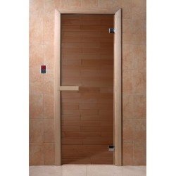 Sauna door 1900x700, 6mm, 2...