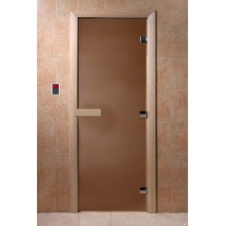 Sauna door 1800x700, 8mm, 3...