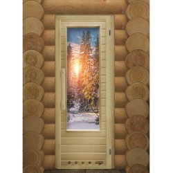 "Wood sauna door ""Elite..."