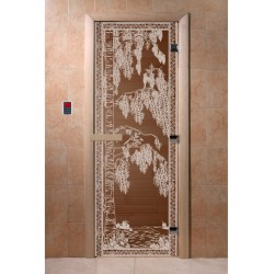 Sauna door BIRCH 2000x800,...