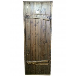 "Wood sauna door ""RUS"" 1890X690"
