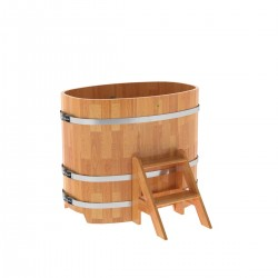Oval tub from a spliced larch 0,76х1,16