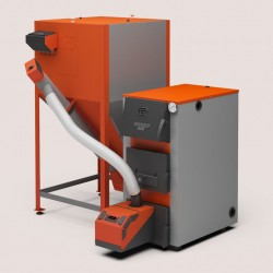 Heating boiler Kupper PRO 42 with pellet burner 42 Comfort