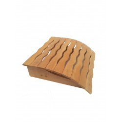 Headrest for sauna spring...