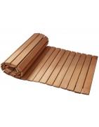 Wooden mats